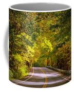 Autumn Road Coffee Mug by Carol Groenen