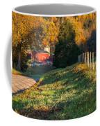 Autumn Road Morning Coffee Mug