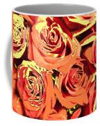 Autumn Roses On Your Wall Coffee Mug