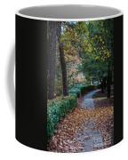 Autumn Side Walk Coffee Mug
