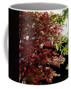 Autumn Snowball Bush Coffee Mug