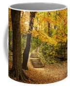 Autumn Stairs Coffee Mug