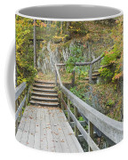 Autumn Steps Near Smalls Falls In Maine Coffee Mug