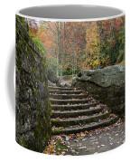 Autumn Stone Staircase Coffee Mug