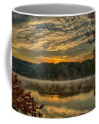 Autumn Sunrise At The Lake Coffee Mug