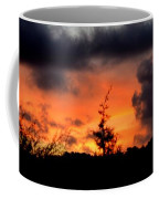 Autumn Sunrise From The Back Deck Coffee Mug