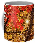 Autumn Sunrise Painterly Coffee Mug