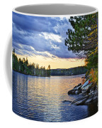 Autumn Sunset At Lake Coffee Mug