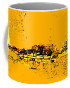 Autumn Sunset On The Delta Coffee Mug