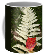 Autumn Textures Square Coffee Mug