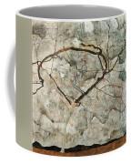 Autumn Tree In Stirred Air. Winter Tree Coffee Mug