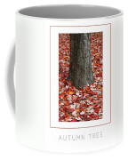 Autumn Tree Poster Coffee Mug