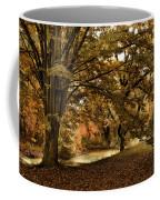 Autumn Umbrella Coffee Mug