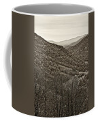 Autumn Valley Sepia Coffee Mug