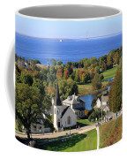 Autumn View On Mackinac Island Coffee Mug