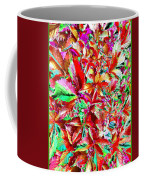 Autumn Virginia Creeper Coffee Mug