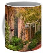 Autumn Walk In Pinehurst Coffee Mug