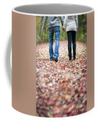Autumn Walk In The Woods Coffee Mug