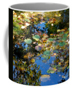 Autumn Water Lily Reflections  Coffee Mug