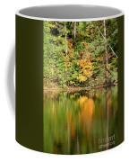 Autumn Watercolor Reflections Coffee Mug