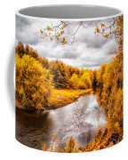 Autumn White Mountains Maine Coffee Mug