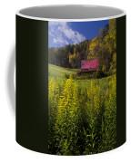 Autumn Wildflowers Coffee Mug by Debra and Dave Vanderlaan