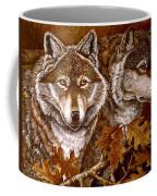 Autumn Wolves Coffee Mug