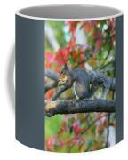 Autumnal Squirrel Coffee Mug