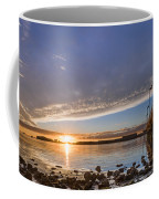 Autumnal Sunset At Del Norte Pier Coffee Mug