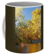 Autumn's Golden Pond Coffee Mug by Kim Hojnacki
