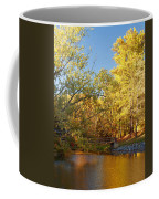 Autumn's Golden Pond Coffee Mug