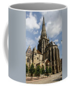 Autun Cathedral View Burgundy Coffee Mug