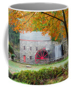 Auutmn At The Grist Mill Coffee Mug by Michael Blanchette
