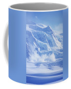 Avalanche At A Distance Coffee Mug