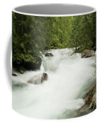 Avalanche Creek In Spring Run Off Coffee Mug