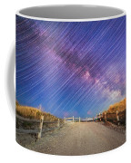 Avalon Star Trails  Coffee Mug