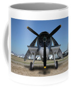 Abstract Avenger T B M Moffett Field Coffee Mug
