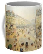 Avenue De L'opera In Paris Coffee Mug