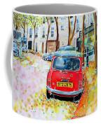 Avenue Junot In Autumn Coffee Mug
