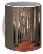 Avenue Of Plain Trees Coffee Mug