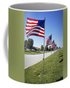 Avenue Of The Flags Coffee Mug