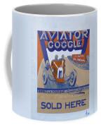 Aviator Goggle Sold Here Poster Coffee Mug