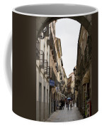 Avila Street Blue Umbrella Coffee Mug