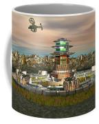 Avitar Scorpion Ship Coffee Mug
