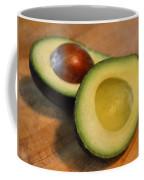 Avocado Coffee Mug by Michelle Calkins
