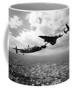 Avro Birds - Mono  Coffee Mug