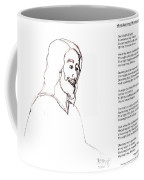 Awakening Divine Self Worth Sketch Of Jesus 2 Coffee Mug