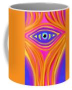 Awakening The Desert Eye Coffee Mug