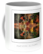 Awesome Autumn Poster Coffee Mug