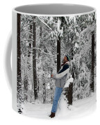 Awestruck By The Beauty Of Snow Coffee Mug